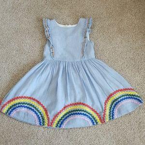 (EUC) Mini Boden toddler dress size 4-5Y